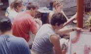 Membatik Kayu di Desa Wisata Krebet