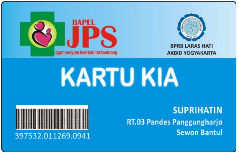 Kartu Sehat Warga Desa Panggungharjo