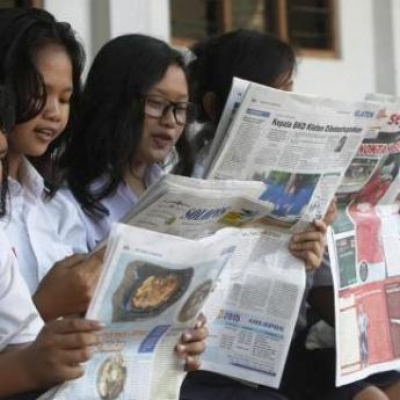 Hebatnya KIM, Koran Produk Desa