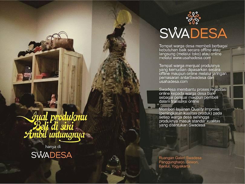 Telah Lahir SWADESA, Si Jawara Pemasar Produk Desa