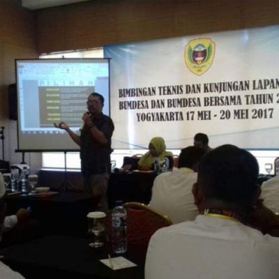 Pelatihan BUMDesa Bersama 50 Kepala Desa Halmahera, Pulang Langsung Bikin Perubahan