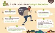 Awas, Lima Lubang Maut Penggunaan Dana Desa