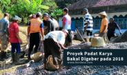 Proyek Padat Karya Bakal Digeber pada 2018