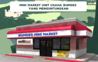 Banyaknya Keuntungan Minimarket Sebagai Unit Usaha BUMDes