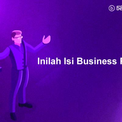 Inilah Isi Business Plan