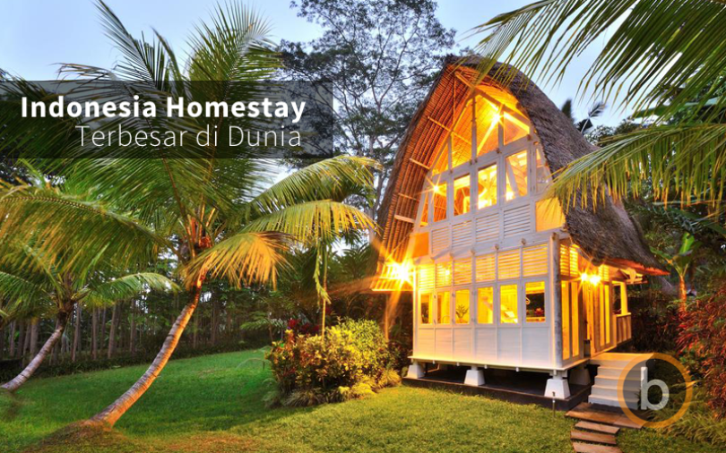 Indonesia Bakal Menjadi Negeri Homestay Terbesar di Dunia