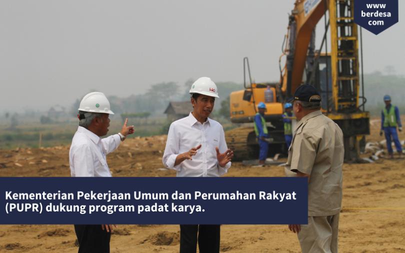 Kementerian PUPR Siap Gelontorkan Rp. 11,2 T Dukung Padat Karya