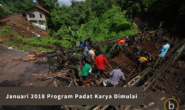 Pengumuman: Januari 2018 Program Padat Karya Dimulai