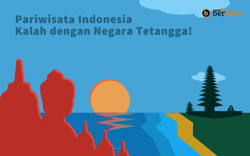 Pariwisata Indonesia Kalah dengan Negara Tetangga, Ini Masalahnya