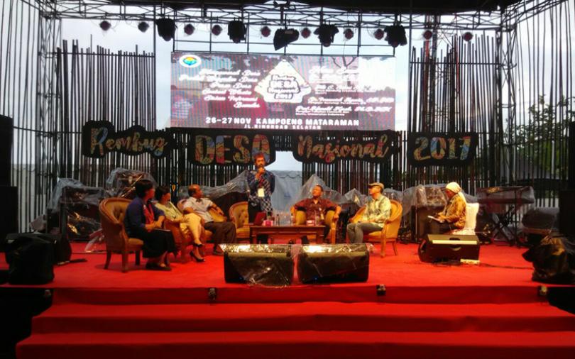 Panggungharjo Gelar Rembug Desa Nasional, Undang 4000 Desa