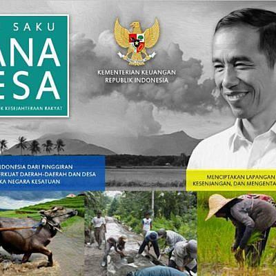 Buku Saku Dana Desa : Dana Desa untuk Kesejahteraan Masyarakat