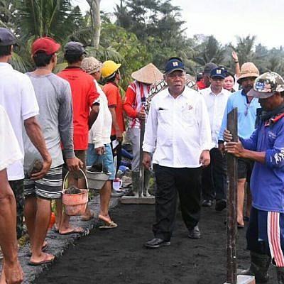 Padat Karya Kementerian PUPR Serap 263 Ribu Tenaga Kerja