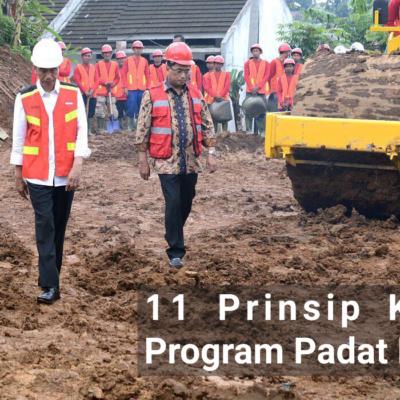 11 Prinsip Kerja Program Padat Karya