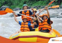 Ayo Coba Sensasi Menguji Adrenalin Di Wisata Rafting Kali Oya
