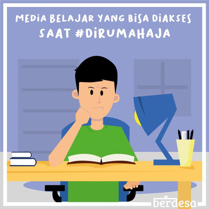 media belajar online